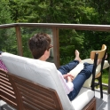 Relaxing in Poole Creek