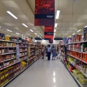 """One of the isles in the huge """"Real Canadian Superstore"""""""
