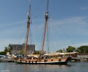 The heritage tall ship of SALTS