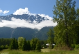 Between Mount Currie and Pemberton