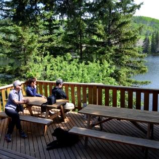 """""""Cappuchino and Espresso On The Lake"""", Lac des Roches"""