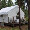 Our yurt at Kumsheen Rafting Resort