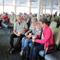 On the ferry from Tsawwassen to Swartz Bay