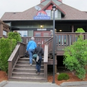 """Dinner in Lake Cowichan at """"Jakes at the Lake"""""""