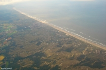 The coastline of The Netherlands