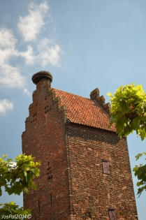 Prison tower in the village of Megen