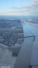 Approaching Schiphol Airport