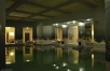 The tranquil indoor swimming pool
