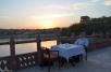 Sunset tea on the terrace