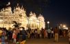 Mysore Palace on Sunday evening