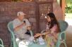 Last visit with Gayatri