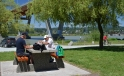 Picnic along the Matsqui Trail