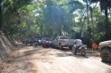 Road construction: traffic jam