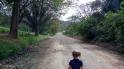 Walking home after school