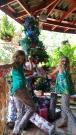 The resort's Christmas tree