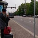 Bus stop in Maple Ridge