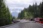 Mount Robson ahead