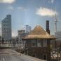 Approaching Union Station, Toronto