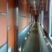 Hallway in the prestige car