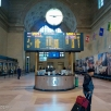 Union Station. Checking our platform.