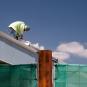 Hot job at a construction site at Los Delfines