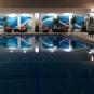 The pool of Holiday Inn San José Aurola